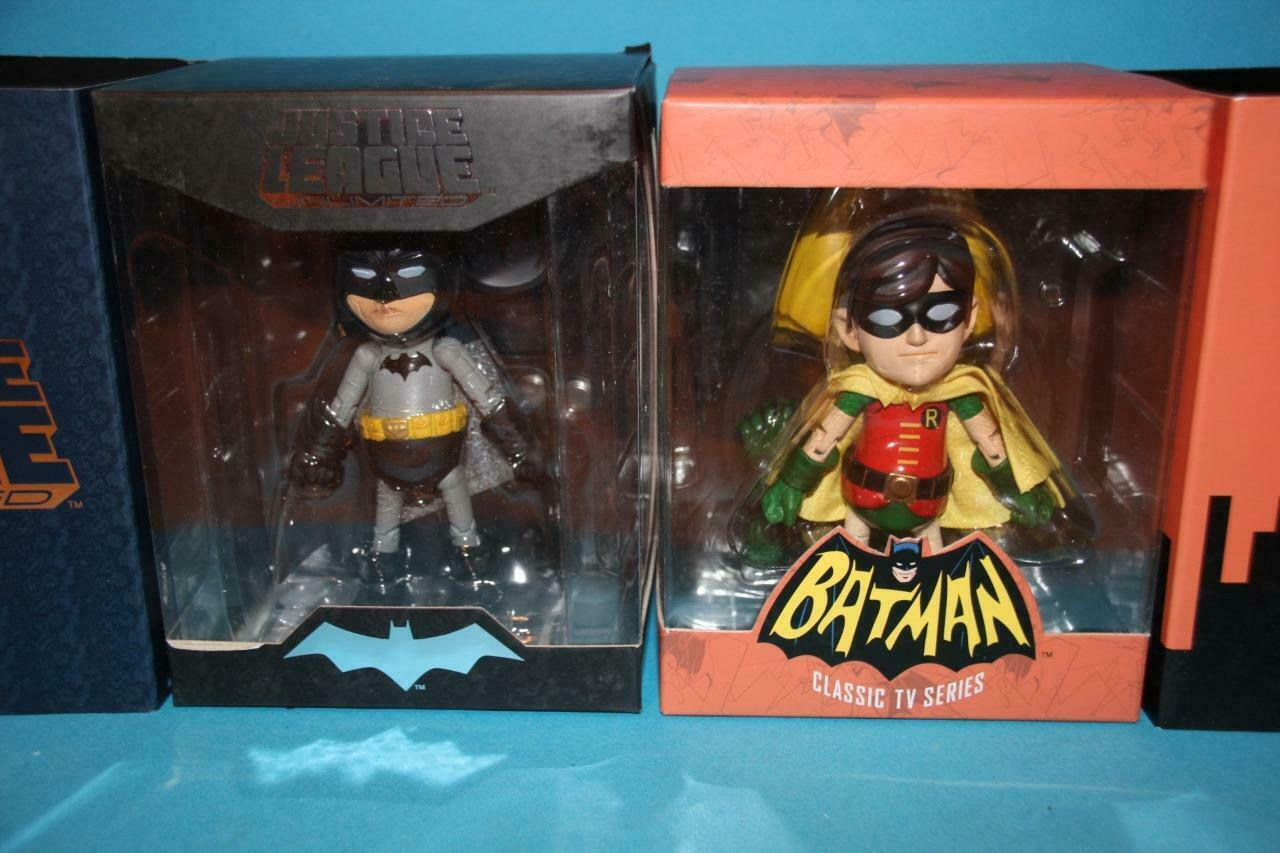 BATMAN & ROBIN Heroecross die cast Hybrid metal figures MIB MIP