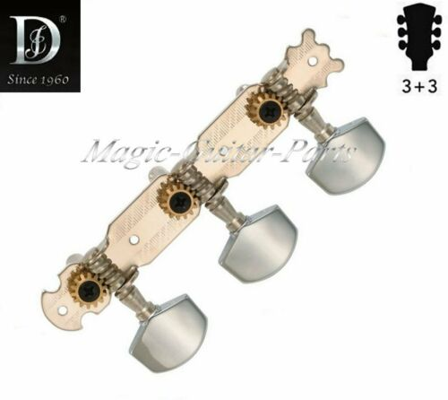 Mechaniken für Western-Gitarre 3+3 DER JUNG DJ221-M9 vernickelt Ü1:14