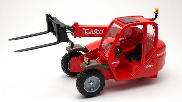 Manitou Maniscopic TWISCO SLT415 With Forks 1 25 Model JOAL