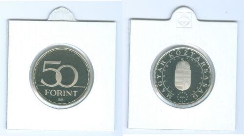 "Hungary 50 Huf 2004 /"" of Eu Membership /"" Pf only 7.000 Piece"