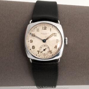 WEIR-amp-SONS-Ltd-Dublin-Antique-Gents-Ladies-Wrist-Watch-Irish-Vintage-Rare-Old