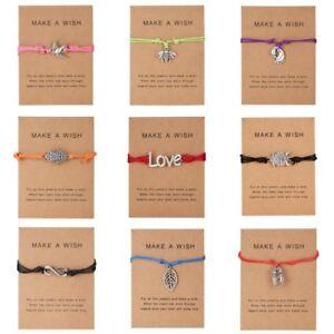 Wish Bracelet Tibetan Charm Friendship