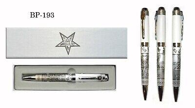 Elegant /& Unique Mason Set Freemasons Masonic Ballpoint Pen /& Keychain Gift Set