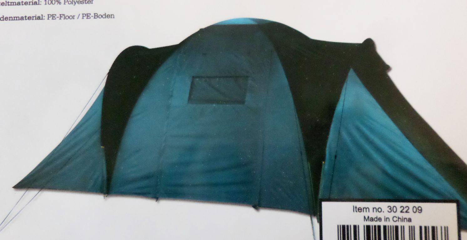 Grand Canyon 30 22 09 Atlanta 4 Familienzelt blau Kuppelzelt schwarz camping  Kuppelzelt blau W5 53beeb