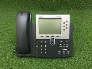 Cisco Unified IP Phone CP-7961G VoIP device Business Phone - 1 YEAR WARRANTY