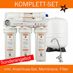 top seller 5 stufige umkehrosmose anlage wasserfilter entkalker u ebay. Black Bedroom Furniture Sets. Home Design Ideas