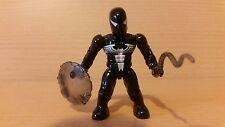Marvel Mega Blocks - Black Spider Man Mini Figure