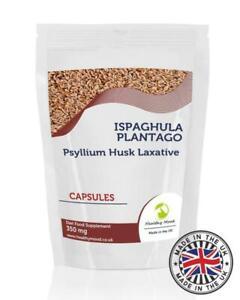Ispaghula-Plantago-350mg-Psyllium-Husk-90-Capsules-Pills-Supplements
