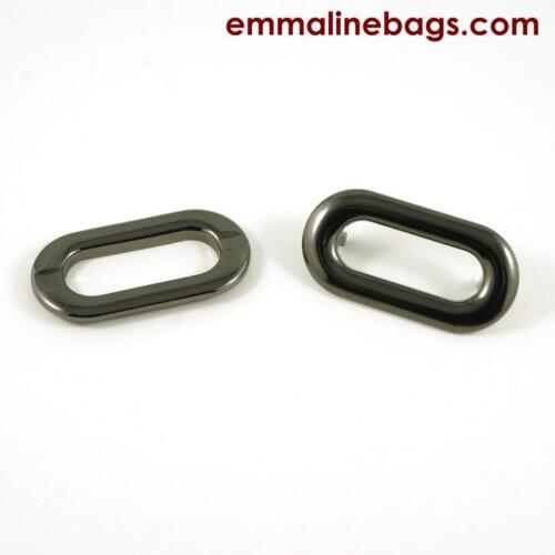 GROMMETS OBLONG 4 pack 1 inch Emmaline Bags bag making range of finishes