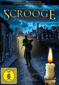 Charles-Dickens-SCROOGE-A-CHRISTMAS-CAROL-Die-Nacht-avant-Weihnachten-DVD-neuf