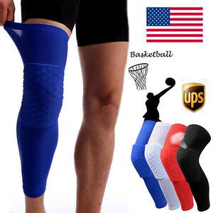 Crashproof Honeycomb Pad Football Basketball Shooting Leg Sleeve