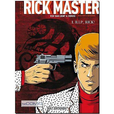 Die neuen Fälle des Rick Master 1 R.I.P. HC Rick DETEKTIV COMIC Krimi NEU