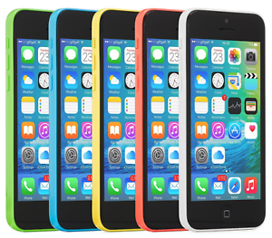Apple-iPhone-5C-8GB-16GB-32GB-T-Mobile-Blue-White-Green-Yellow-Pink-Coral