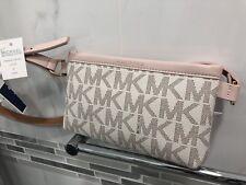 10f7a3e6c059 item 3 Michael Kors MK Signature Logo Belt Wallet Fanny Pack Bag Vanilla NWT  $68 M Size -Michael Kors MK Signature Logo Belt Wallet Fanny Pack Bag  Vanilla ...