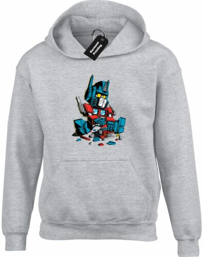 LEGO OPTIMUS HOODY HOODIE FUNNY RETRO TRANSFORMER COOL PRIME AUTOBOT DECEPTICON