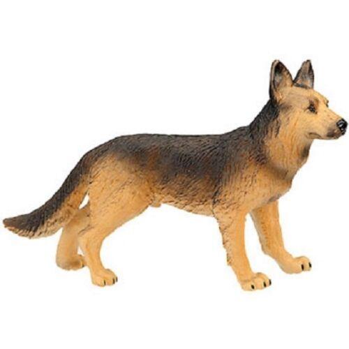 Bullyland vinyl miniature toy animal figure German Shepherd Dog
