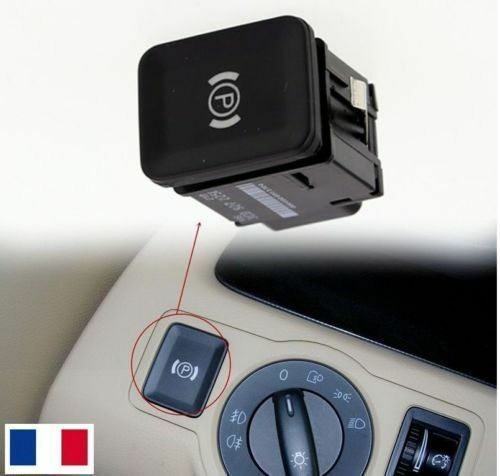 VW PASSAT ELECTRONIC PARK BRAKE HANDBRAKE SWITCH BUTTON 2005-2010 3C0927225C
