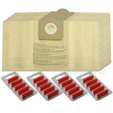 20 x Vacuum Cleaner Dust Bags For PARKSIDE LIDL Canister Hoover 30 Litre Tub Bag
