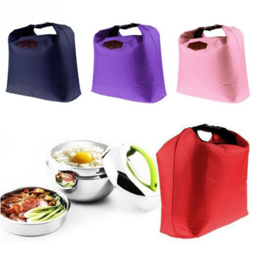 Thermal Insulation Waterproof Portable Picnic Food Storage Box Tote Lunch Bag