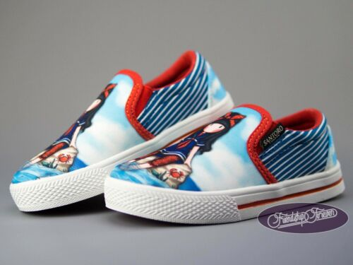Gorjuss Little Fishes Kids low-top Canvas Shoes Santoro London Trainers Sneakers