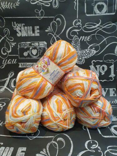Super Suave Bebé Hilado Nako Tejer Crochet Lana//Hilo Bolas 1 X 500g Pack Nuevo B