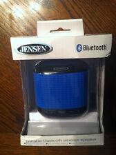 Jensen Portable Bluetooth Wireless Speaker. Brand New. Blue.