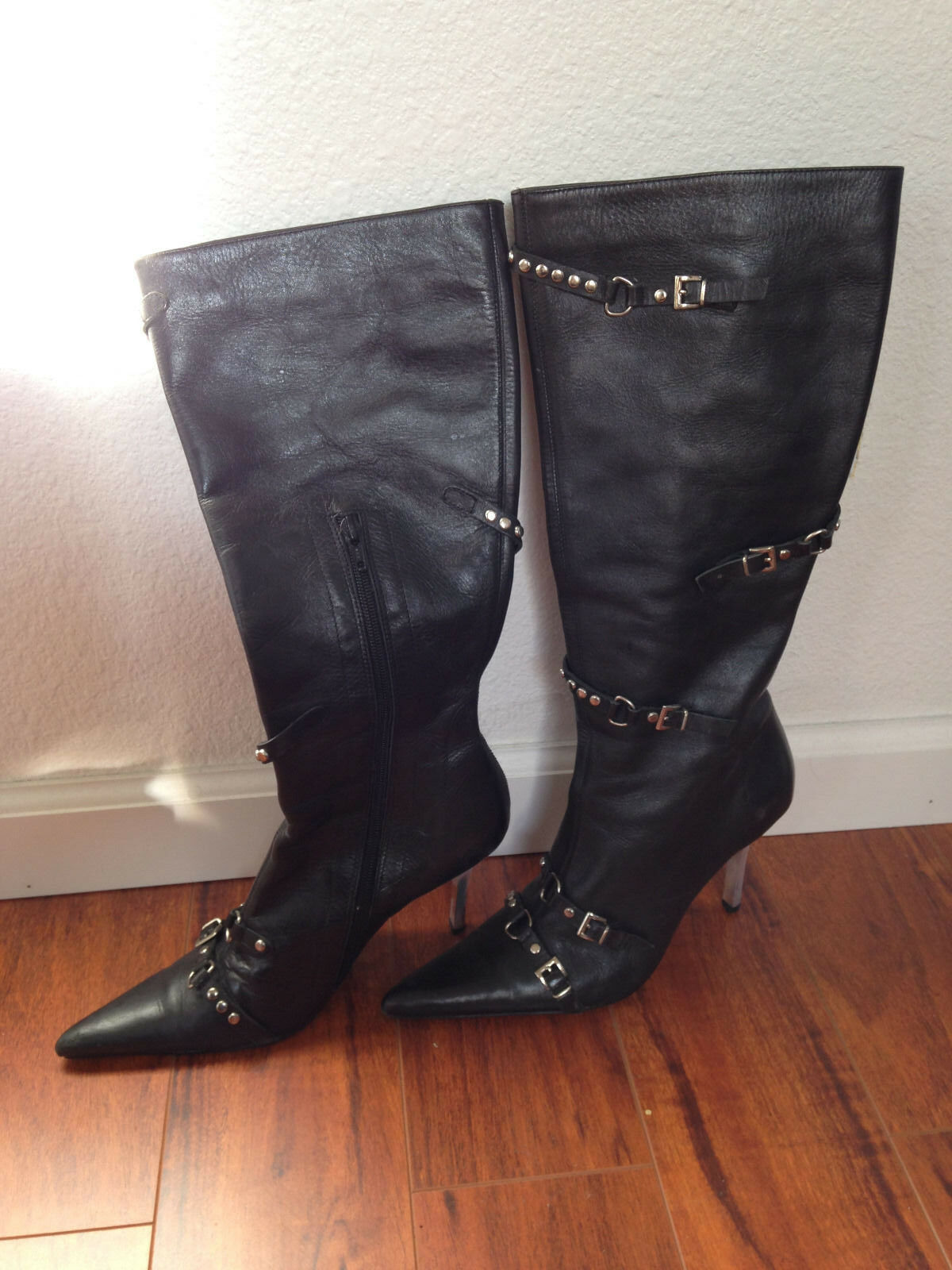 Women boots, Steve Madden boot, High hills boot, high boot, leather boot, brand