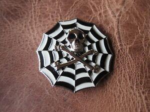 Skull-Spider-Web-Spiderweb-Buckle-Belt-Buckle-For-Leather-Belt-Change-Belt