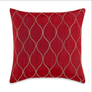 Genie Embroidered Throw Pillow Cover