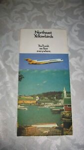 1971-NORTHEAST-AIRLINES-YELLOWBIRDS-TICKET-HOLDER-TICKET-NY-KENNEDY-TO-BOSTON