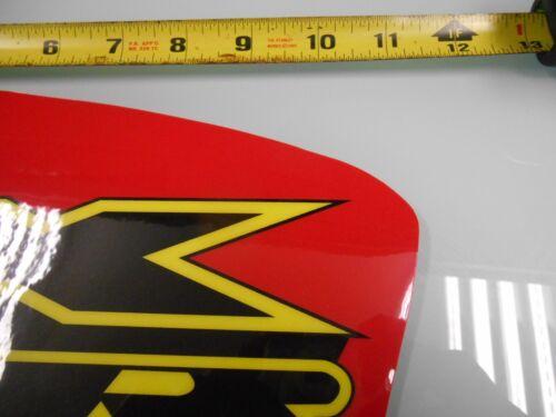 HONDA 2000-2009 XR 650 XR650 650R XR650R 650 R SHROUDS DECALS GRAPHICS FUEL TANK