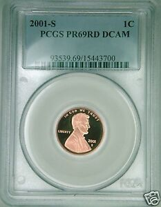 2001-S-PCGS-PR69DCAM-proof-Lincoln-cent-deep-cameo-red