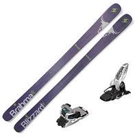 Blizzard Brahma Skis W/marker Griffon 13 Bindings 8a511400k