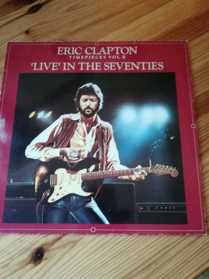 "LP, Eric Clapton, "" Live in the seventies"