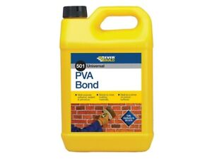 Everbuild-5-Litre-PVA-Bond-Adhesive-Bonding-Agent-Sealer-Admixture-501