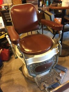 Image Is Loading Antique 1920s Theo A Kochs Barber Chair