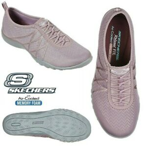 Constituir trabajo duro Privilegiado  Skechers Women's Slip On Shoes Relaxed Fit: Breathe Easy Casual Trainers  Size UK | eBay