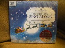 'Tis the Season: Kids Christmas Sing Along Various Artists, 2 CD's, new unopened