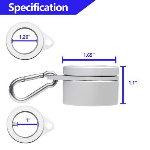 2 Stück Fahnenmast 360 ° Drehbar Ring Set Mit Festen Haken Schnalle Anti Wrap