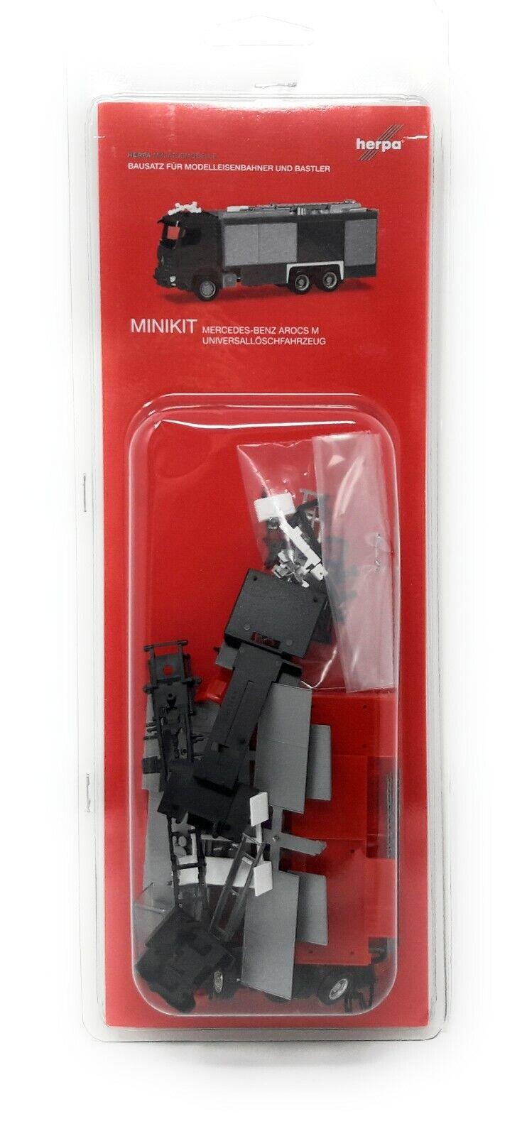 Fuego de Herpa MiniKit MB Arocs S EMPL ULF 013055