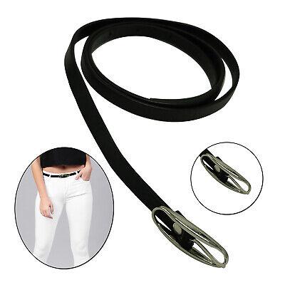 10mm Sottile Nero Lucido Donna Cintura In Vita Alla Moda Ragazze Celebrazione