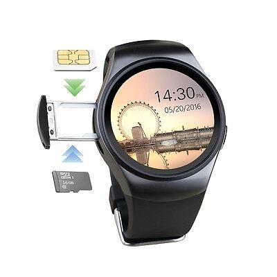 KW18 Bluetooth Ritmo Cardiaco SIM TF Reloj inteligente para iOS Android LG Nergo