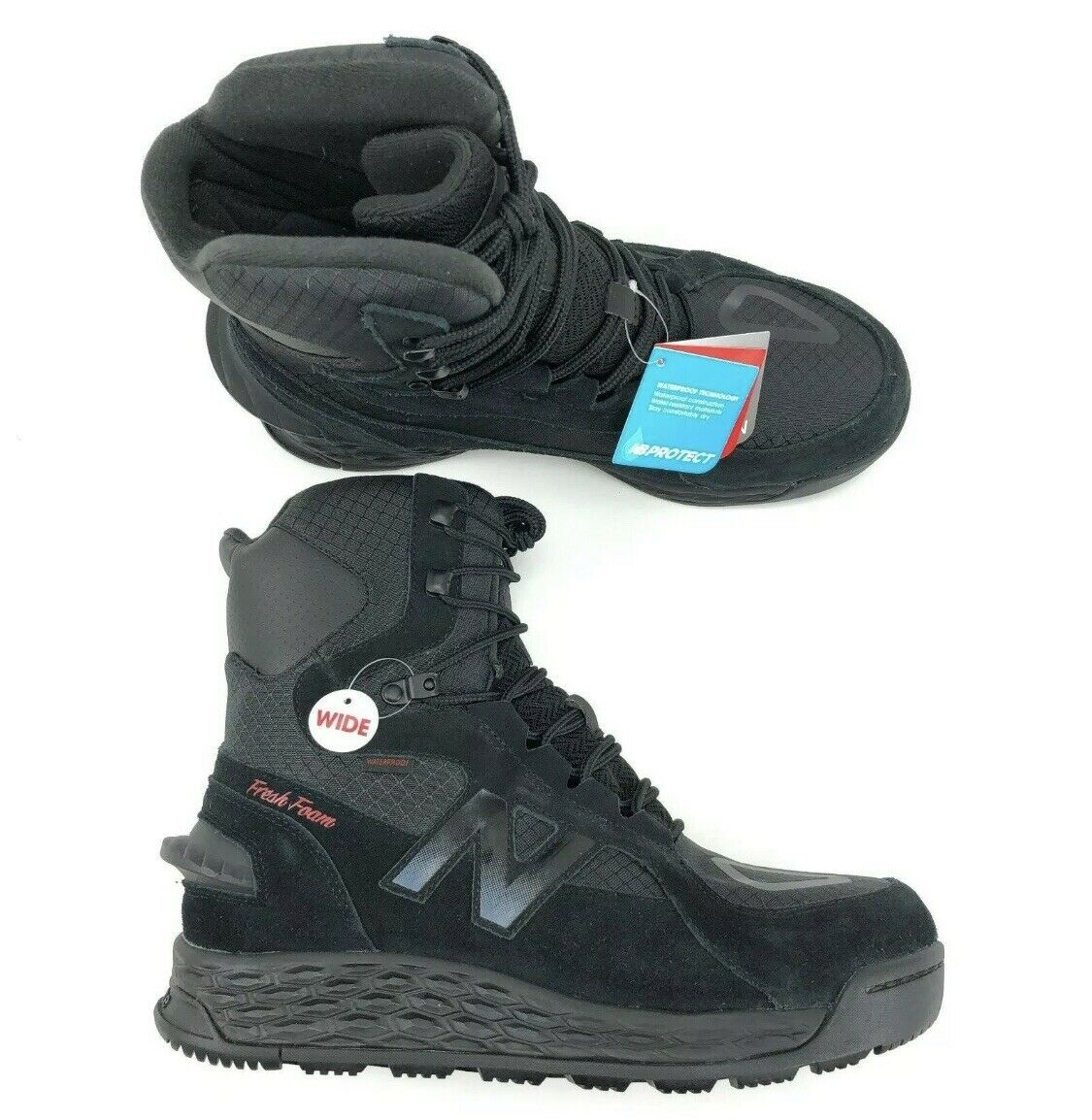New  Balance Fresh Foam Trail Hiking Waterproof Insulated Boot Mens Wide Size EE  special offer