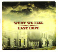 WHAT WE FEEL / LAST HOPE SPLIT CD OI SKIN STREET PUNK HARDCORE AGNOSTIC FRONT