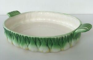 "Vintage 1960's L'Oignon by Georges Briard Green Onion 12 3/8"" Oval Casserole"