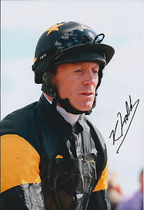 Kieren-FALLON-SIGNED-Autograph-Photo-AFTAL-COA-Champion-Jockey-Gold-Cup-Winner