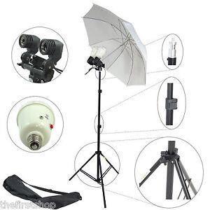 Kit-Professionale-DynaSun-MM245-Stativo-Ombrello-Portalampada-Doppio-2-Flash-90W