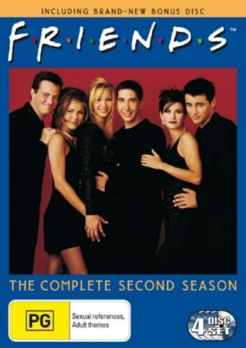 1 of 1 - Friends : Complete Series 2 (DVD, 2006, 4-Disc Set, Region 4, New & Sealed) k3