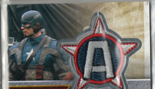 Marvels Captain America Autograph /& Costume Relic Card Selection NM Upper Deck