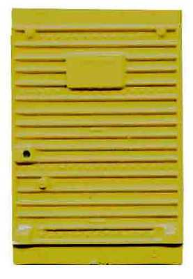 Yellow BOX CAR DOOR for AMERICAN FLYER  S Gauge Scale Trains Parts